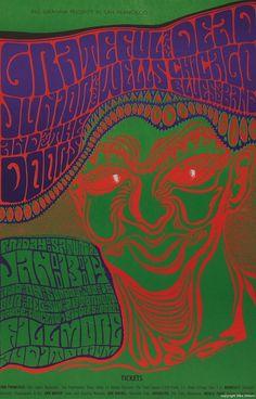 サイケデリックなロックのポスターの画像:ハムスター速報