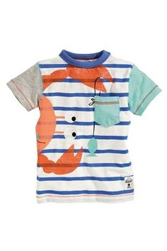 Buy Crab Stripe T-Shirts Three Pack (3mths–6yrs) from the Next UK online shop