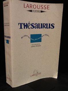 Thésaurus. Des idées aux mots, des mots aux idées de Daniel Péchoin, http://www.amazon.fr/dp/2037500084/ref=cm_sw_r_pi_dp_pIs6sb06KNY51