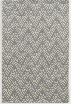 Nantucket Geometric Grey Rug