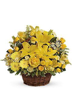 Basket Full of Wishes - Teleflora Carnations 58a4c300b9