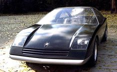 Opel Black Widow Prototype, 1973. A design study which was a proposed replacement for the Opel Manta, however the energy crisis if the early 70s meant Opel felt there would be no market for the the car