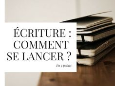 ÉCRITURE _comment se lancer ? Essay Writing, Writing A Book, Writing Tips, Book Writer, Optimism, Creative Writing, Good To Know, Something To Do, Books To Read
