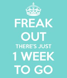 ONE WEEK TO GO 5 SPACES REMAINING Only one week to go before the first day of the Evolution Cheer NI Newtownards Summer Camp There are a few spaces remaining so get in contact ASAP to secure your place! Details are in the previous post Wedding Planning Memes, Wedding Meme, Wedding Day Quotes, Wedding Posters, Wedding Countdown Quotes, Happy Birthday Best Friend Quotes, 15 Year Wedding Anniversary, National Wedding Show, Funny Travel Quotes