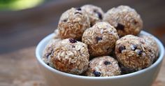 Quick Post-Workout Recovery: Cherry Almond Coconut Protein Balls