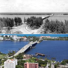 Lake Worth Florida then and now Lake Worth Florida, Florida City, State Of Florida, Vintage Florida, Old Florida, South Florida, Palm Beach Fl, Delray Beach, Vacation Destinations
