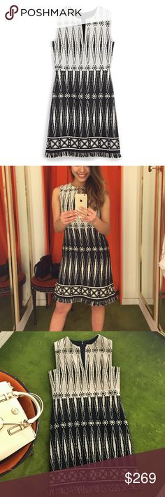 New《Tory Burch》savora tweed chanel style dress Bought it at Tory Burch Store for $679 this year....never got a chance to wear it! It's a perfect dress for Fall- get it now before it's gone:) Tory Burch Dresses