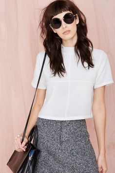 Nasty Gal Square One Top | Shop Sale at Nasty Gal