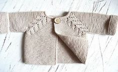 Baby Knitting Patterns Ravelry: Norwegian Fir, top down cardigan pattern by OGE Kni. Baby Knitting Patterns, Arm Knitting, Knitting For Kids, Double Knitting, Baby Patterns, Knitting Projects, Baby Sweater Knitting Pattern, Baby Pullover, Baby Cardigan