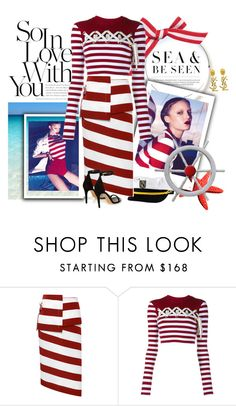 """""""Sailor girl"""" by missbradshaw13 ❤ liked on Polyvore featuring N°21, House of Holland, Isabel Marant and Yves Saint Laurent"""