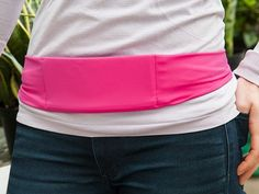 Solid Color Modern Fanny Pack by BANDI Wear