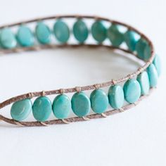 DIY: Wrapped bracelet tutorial