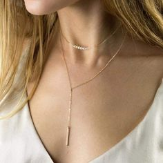 Trendy Multi-layer stainless steel Crystal pendants statement necklace – klozetstyle.com Pearl Pendant Necklace, Gold Plated Necklace, Crystal Pendant, Pearl Choker, Layered Necklace Set, Multi Layer Necklace, Necklace Price, Collar Necklace, Diy Choker
