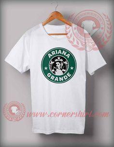 Ariana Grande Star Bucks Coffee Logo T Shirt #shirts #tees #tshirt #apparel #clothing #fashion #casual #outfits #CustomDesignTshirts #CheapCustomMadeTshirts #ArianaGrandeStarBucksCoffeeLogoTShirt #ArianaGrandeFansShirts #CheapArianaGrandeShirts #ArianaGrande #arianaGrandeUnicorn #Starbucks #coffee #StarBucksCoffee