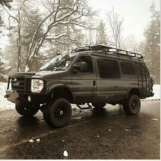 @anomadslifeforme Sportsmobile with Aluminess bumpers, roof rack and ladder exploring Sequoia National Forest    #aluminess #roofrack #ladder #bumpers #Sportsmobile #adventuremobile #adventurevan #vanlife #campervan #4x4van #sequoia #homeiswhereyouparkit