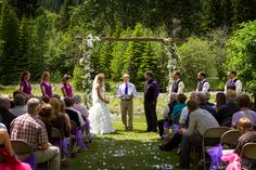 Wedding at Wallowa Lake in Joseph, Oregon