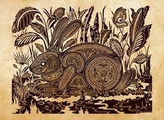 Коллекция картинок: Трафареты для точечной росписи - этника