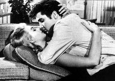 """Elvis Kisses, Jennifer Holden in """"Jailhouse Rock"""" from 1957"""