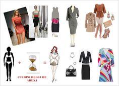 El blog de Sora: Cómo vestir según tu cuerpo