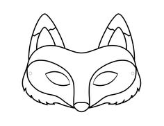 Coloriage Masque Animaux 4 on with HD Resolution pixels is Best Fresh Home Design Ideas and Interior Decorating Architecture of The Years 2019 Animal Mask Templates, Printable Animal Masks, Unicorn Printables, Fox Coloring Page, Free Coloring Pages, Printable Coloring, Duck Mask, Masque Halloween, Wolf Mask