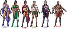 Arte Kombat Mortal, Kitana Mortal Kombat, Mortal Kombat Cosplay, Jade Mortal Kombat, Mortal Kombat Video Game, Mortal Kombat Games, Girls Characters, Female Characters, Mortal Kombat Costumes Woman