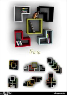 bookshelf minimalist design Minimalist Bookshelf Design by Igor ...