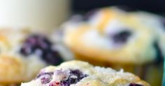 The best blueberry muffin recipe ever! Perfectly moist with a tall, sparkly crown. Just one bowl! Plus muffin tips and troubleshooting! Best Blueberry Muffins, Blueberry Recipes, Blue Berry Muffins, Blueberries Muffins, Blueberry Cupcakes, Blueberry Breakfast, Alcohol Recipes, Jelly Recipes, Baking Muffins