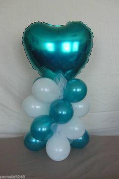 Centre piece wedding balloons
