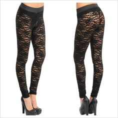 Lace Leggings #CatwalkFashion #Accessories #CatwalkAccessories #2013 #Spring #SpringFashion #Fashion #Colors #Colours #Brights #Neon #Darks #Classy #Sexy #Casual #Beauty #SmartCasual #Outfitoftheday #OOTD #PhotoOfTheDay #MakeUp #LooksforLess #Dress #Top #Ghutra #GhutraFashion #Hair #Model #Ladies #WomensFashion