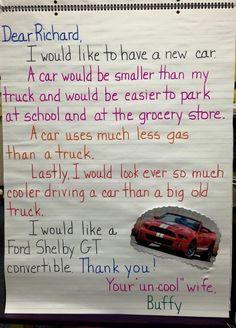 ... persuasive letter example...