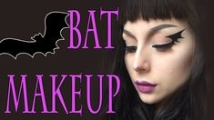 BAT Halloween Makeup Tutorial