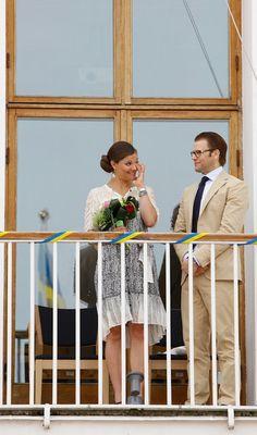 Princess Victoria Photos - Crown Princess Victoria and Prince Daniel Unveil 'Wedding Trees' - Zimbio