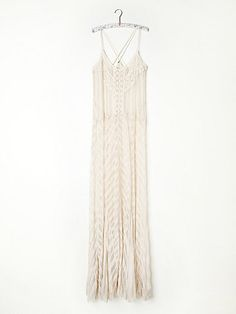 From Slip into Summer: The Must-Have Dress for the Season  Free People Meadows of Lace slip, $198