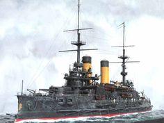 Russian Battleship Suvorov