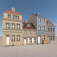 Houses Berlin 3D Model - 3D Model