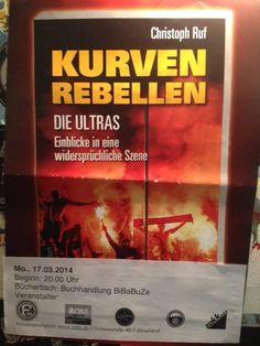 """Lesung im ZAKK """"Kurvenrebellen Die Ultras"""""""