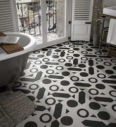 Caprice Deco-Equipe-2, Bathroom, Living room, Public spaces, Kitchen, Patchwork style style, PEI III, Glazed porcelain stoneware, wall & floor, Matte surface, non-rectified edge
