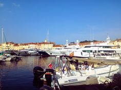Nice port here in St. Tropez