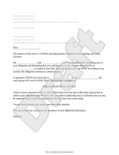 Letter From Wildsteins Lawyer On Lane Closings