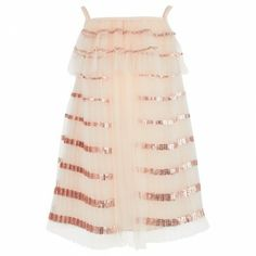 Luxury Pink Sequin Tutu Dress for baby girl from Chloe £301.00