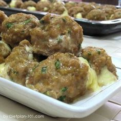 Taco Meatballs with Cheddar (South Beach Phase 1 Recipe) - Diet Plan 101