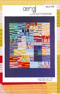 Aerial - quilt pattern by Carolyn Friedlander