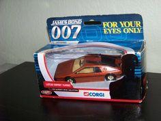 Corgi Car James Bond 007 Lotus Esprit Turbo for Your Eyes Only 1:43 Ultimate Collection vehicle movi @ niftywarehouse.com #NiftyWarehouse #Bond #JamesBond #Movies #Books #Spy #SecretAgent #007