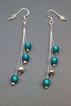♥ No.113 ♥ Ohrringe - 925 Silber, Polaris  von Glashüpfer auf DaWanda.com