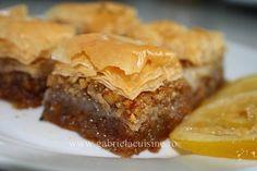 My favorite Turkish dessert Baclava Recipe, Brownie Recipes, Dessert Recipes, No Bake Treats, Sweet Recipes, Foodies, Food Porn, Cooking Recipes, Yummy Food