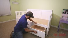 DIY Daybed with Storage Drawers (Twin Size Bed)   FixThisBuildThat