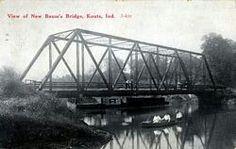 New Baums Bridge on Kankakee River