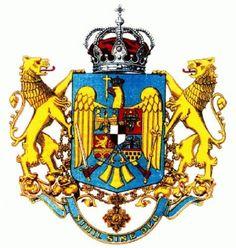 Kingdom of Romania - medium CoA - Category:Coats of arms of the Romanian Kingdom - Wikimedia Commons Family Crest, Soviet Union, History Facts, Coat Of Arms, Old Pictures, Wikimedia Commons, Fictional Characters, Coats, Krystal