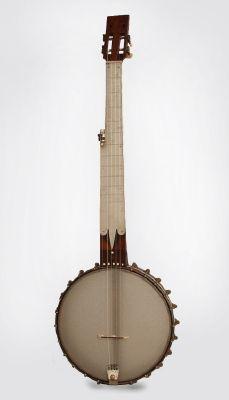 Minstrel Banjo with brass fingerboard,  c. 1860's
