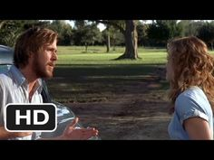 What Do You Want? Scene - The Notebook Movie (2004).  This is one of my favorite parts of the movie.  You can feel Noah's anguish after she makes her decision to leave.  Poor guy.
